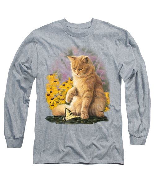 Archibald And Friend Long Sleeve T-Shirt by Lucie Bilodeau