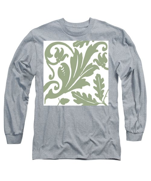 Arielle Olive Long Sleeve T-Shirt by Mindy Sommers