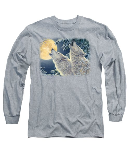 Moonlight Long Sleeve T-Shirt by Lucie Bilodeau