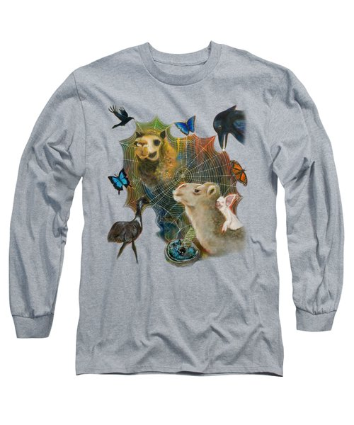 Sacred Journey Long Sleeve T-Shirt by Deborha Kerr