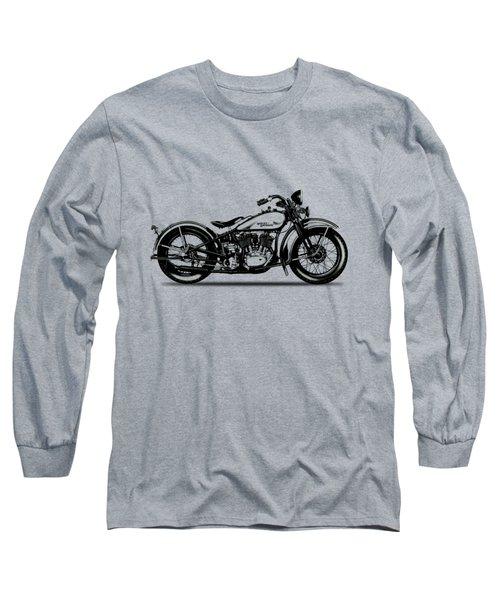 Harley Davidson 1933 Long Sleeve T-Shirt by Mark Rogan