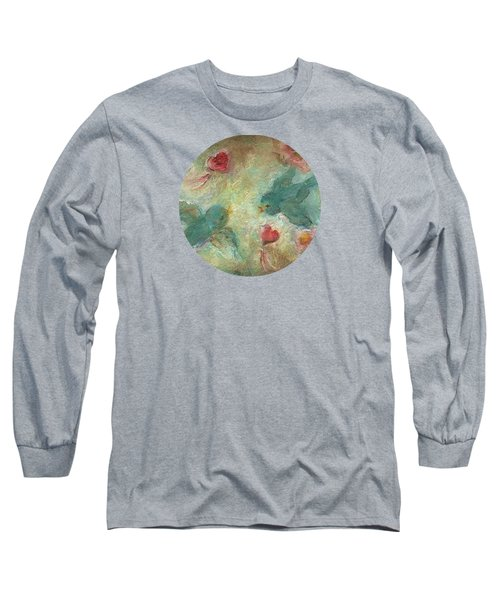 Lovebirds Long Sleeve T-Shirt by Mary Wolf