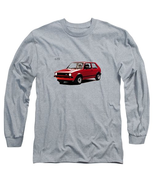 Vw Golf Gti 1976 Long Sleeve T-Shirt by Mark Rogan