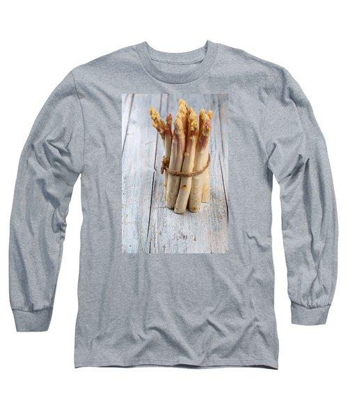 Asparagus Long Sleeve T-Shirt by Nailia Schwarz