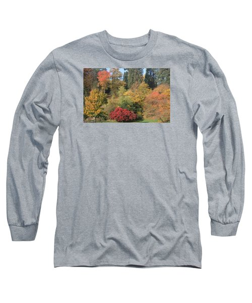 Long Sleeve T-Shirt featuring the photograph Autumn In Baden Baden by Travel Pics