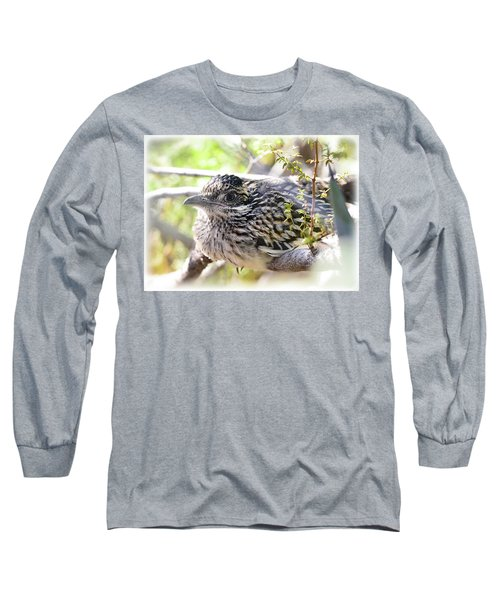 Baby Roadrunner  Long Sleeve T-Shirt by Saija Lehtonen