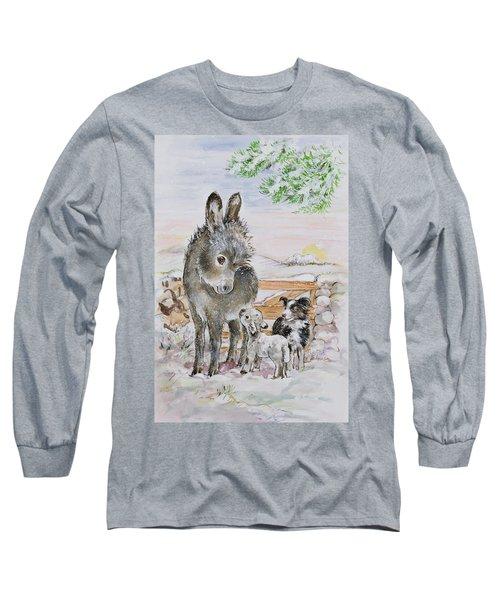 Best Friends Long Sleeve T-Shirt by Diane Matthes