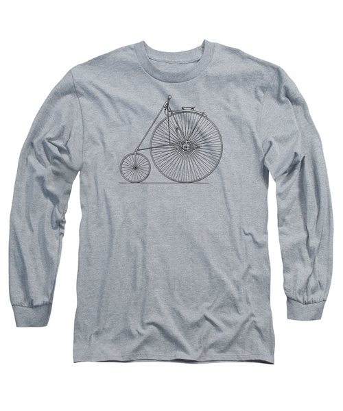 Bicycle 1885 Long Sleeve T-Shirt by Mark Rogan
