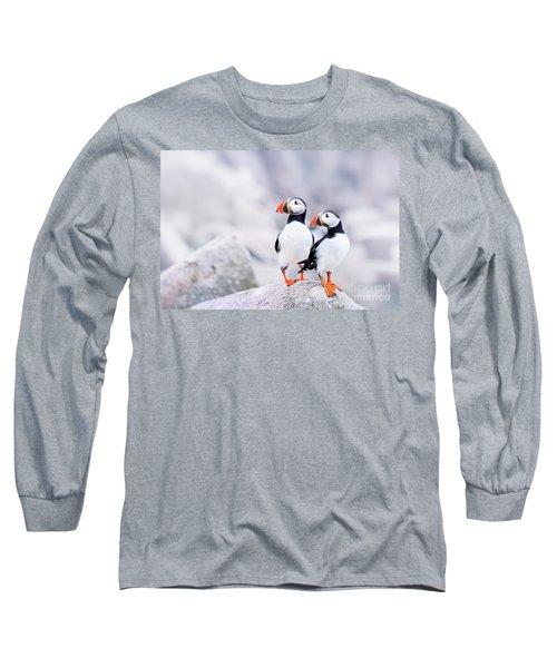 Birdland Long Sleeve T-Shirt by Evelina Kremsdorf