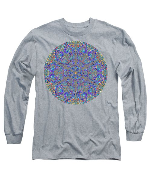 Blue Bird Happy Dance Long Sleeve T-Shirt by John Groves