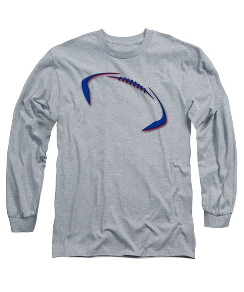 Buffalo Bills Football Shirt Long Sleeve T-Shirt by Joe Hamilton