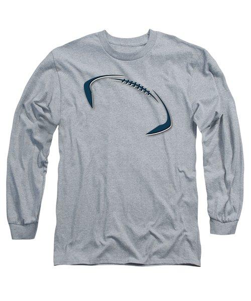 Chicago Bears Football Shirt Long Sleeve T-Shirt by Joe Hamilton