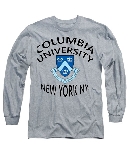 Columbia University New York Long Sleeve T-Shirt by Movie Poster Prints