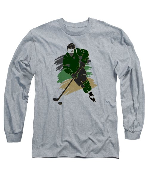 Dallas Stars Player Shirt Long Sleeve T-Shirt by Joe Hamilton