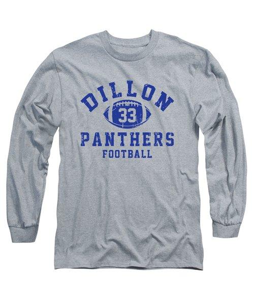 Dillon Panthers Football 2 Long Sleeve T-Shirt by Pendi Kere