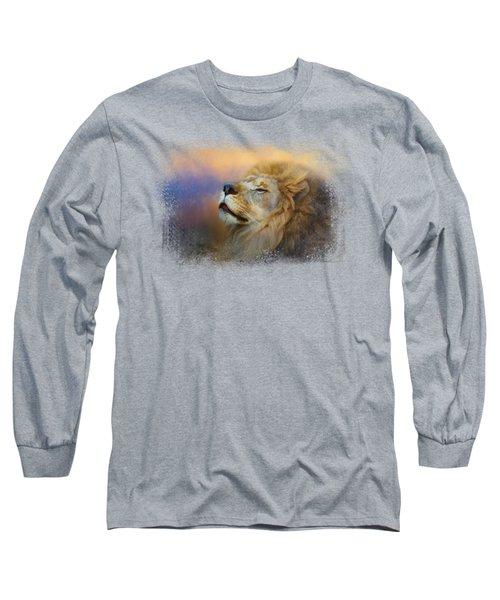 Do Lions Go To Heaven? Long Sleeve T-Shirt by Jai Johnson