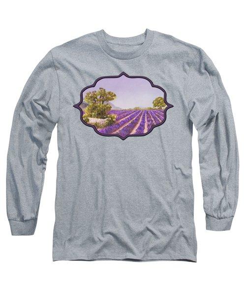 Drome Provence Long Sleeve T-Shirt by Anastasiya Malakhova