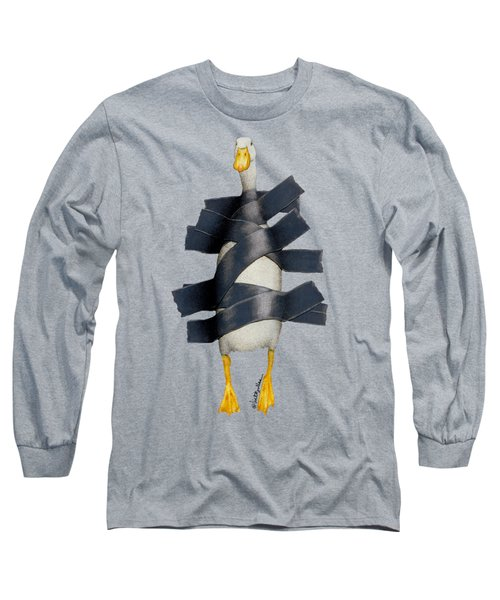 Duck Tape Long Sleeve T-Shirt by Will Bullas