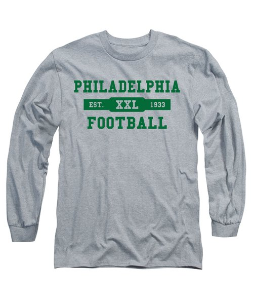 Eagles Retro Shirt Long Sleeve T-Shirt by Joe Hamilton