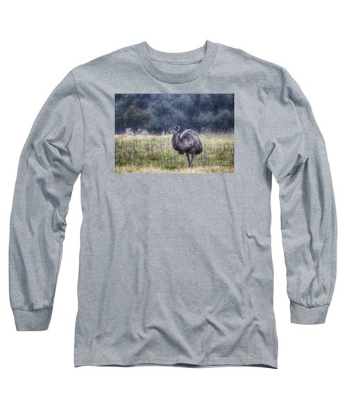 Early Morning Stroll Long Sleeve T-Shirt by Douglas Barnard