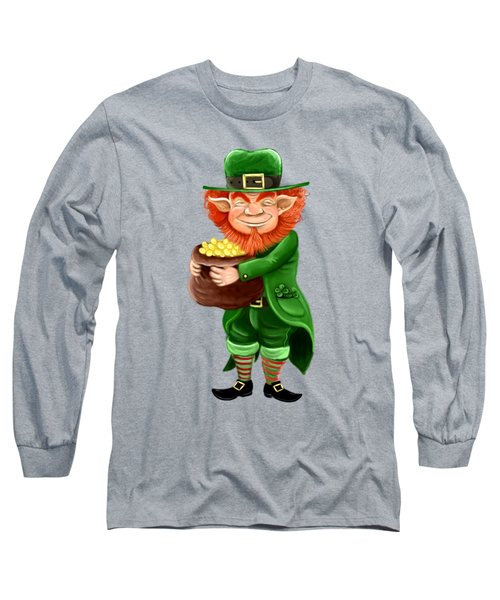 Elf Long Sleeve T-Shirt by Alessandro Scanziani