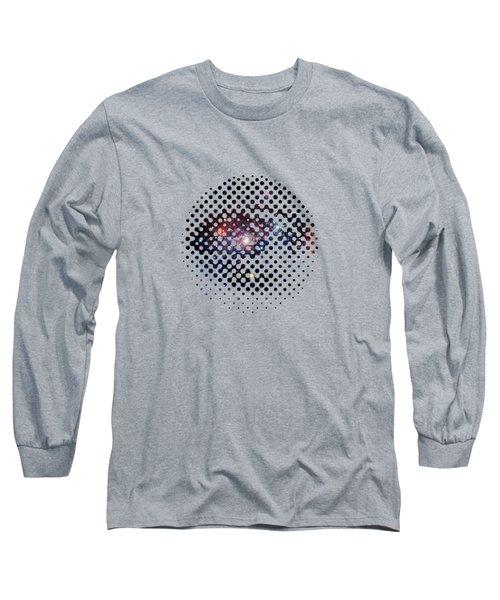 Eye Of Galaxy Long Sleeve T-Shirt by Illustratorial Pulse