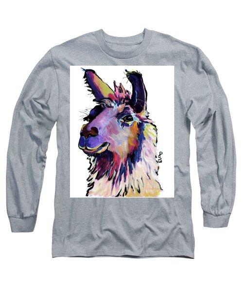 Fabio Long Sleeve T-Shirt by Pat Saunders-White