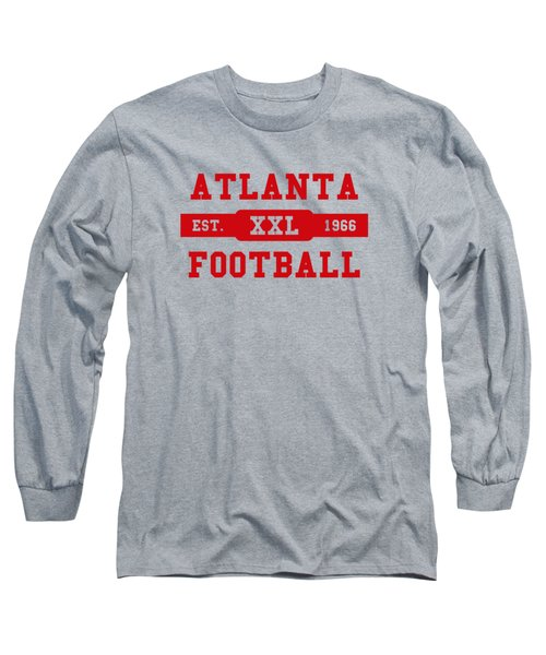 Falcons Retro Shirt Long Sleeve T-Shirt by Joe Hamilton