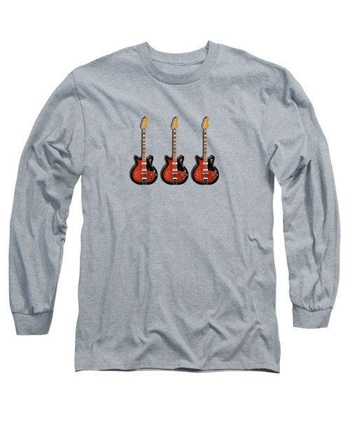 Fender Coronado Long Sleeve T-Shirt by Mark Rogan