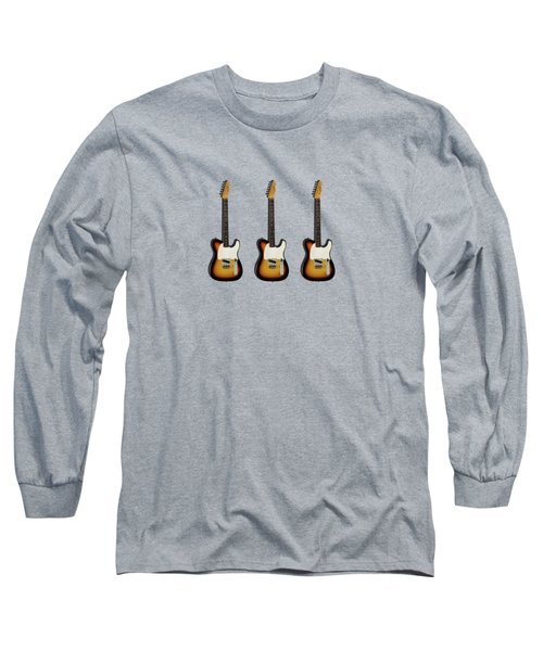 Fender Esquire 59 Long Sleeve T-Shirt by Mark Rogan