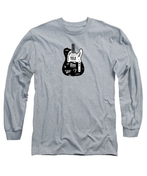 Fender Telecaster 58 Long Sleeve T-Shirt by Mark Rogan