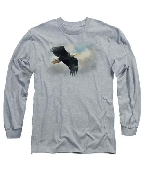 Fish In The Talons Long Sleeve T-Shirt by Jai Johnson