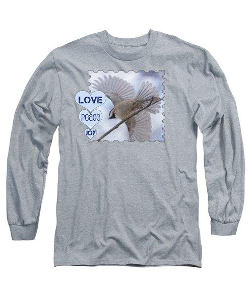 Flight Long Sleeve T-Shirt by Karen Beasley