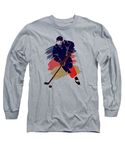 Florida Panthers Player Shirt Long Sleeve T-Shirt by Joe Hamilton