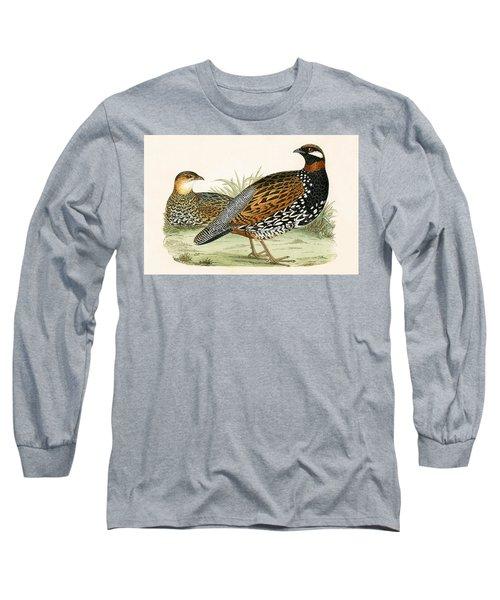 Francolin Long Sleeve T-Shirt by English School
