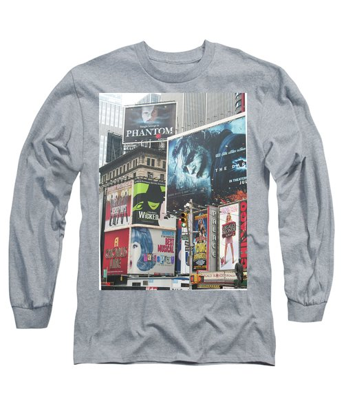 George M Long Sleeve T-Shirt by David Jaffa