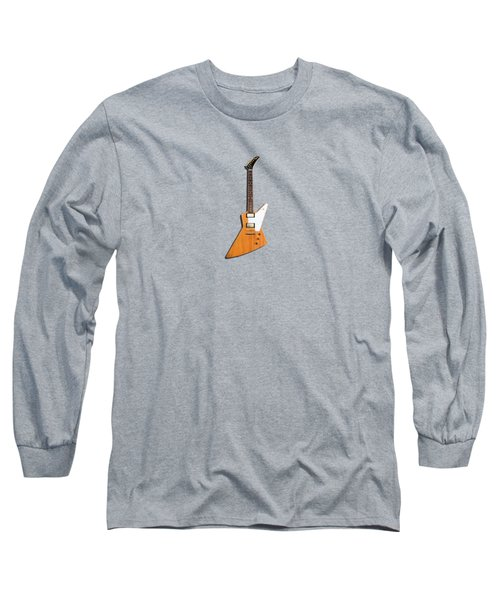 Gibson Explorer 1958 Long Sleeve T-Shirt by Mark Rogan
