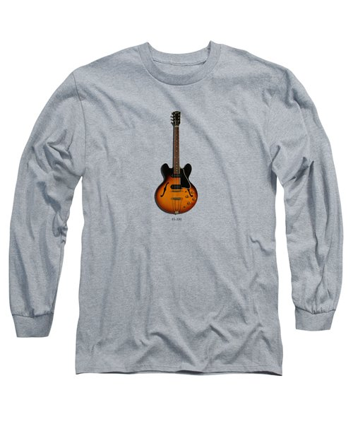Gibson Semi Hollow Es330 Long Sleeve T-Shirt by Mark Rogan