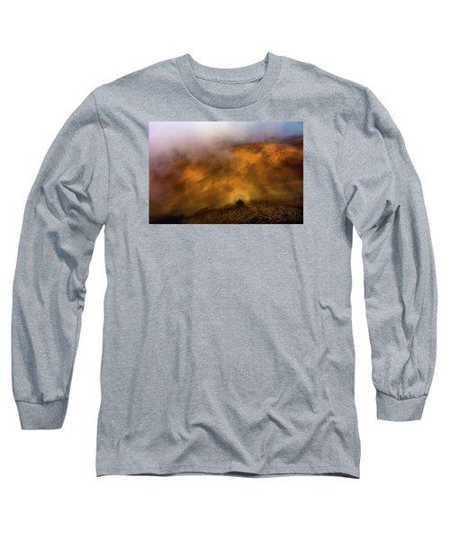 Long Sleeve T-Shirt featuring the photograph Haleakala Halo by M G Whittingham