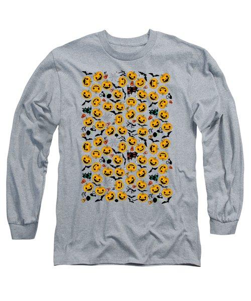 Halloween Party  Long Sleeve T-Shirt by Mark Ashkenazi