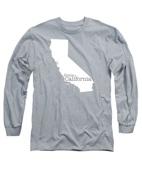 Home Is California Long Sleeve T-Shirt by Bruce Stanfield