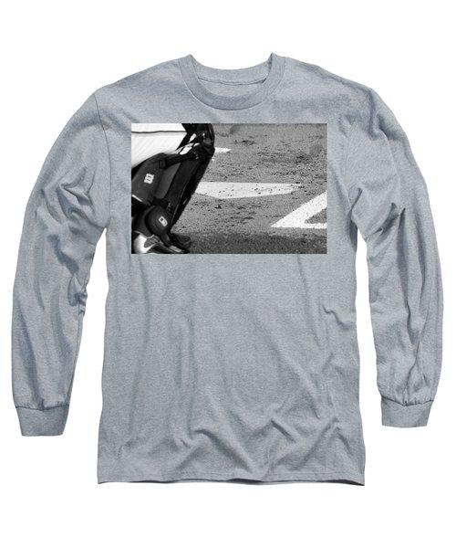 Homeland Security Long Sleeve T-Shirt by Laddie Halupa