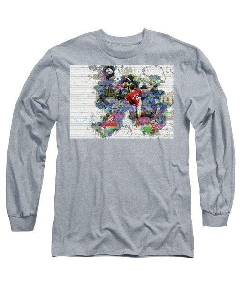 Ibrahimovic  Long Sleeve T-Shirt by Don Kuing