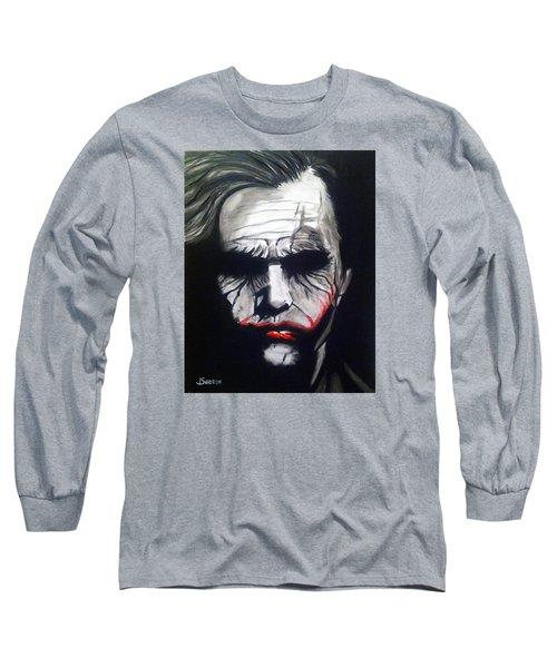 Joker Long Sleeve T-Shirt by John Svedese