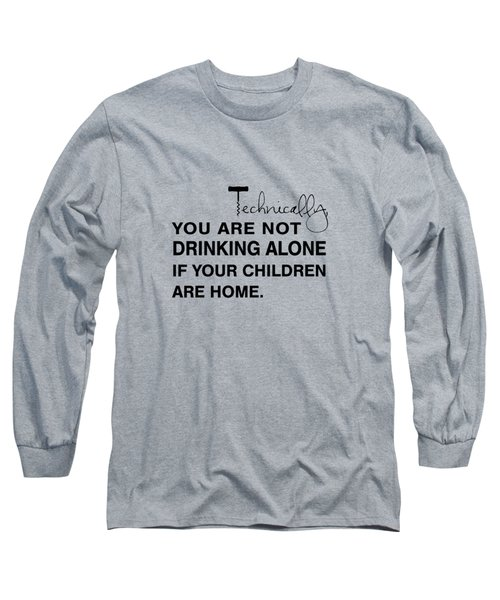 Kids Are Home Long Sleeve T-Shirt by Nancy Ingersoll