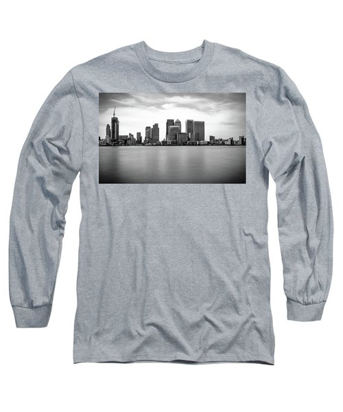 London Docklands Long Sleeve T-Shirt by Martin Newman