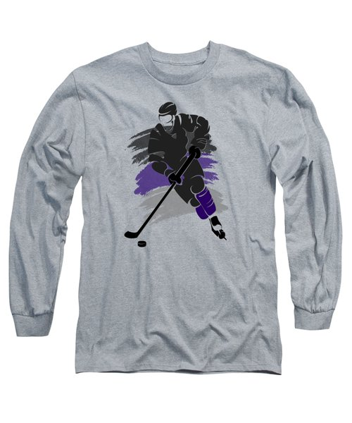 Los Angeles Kings Player Shirt Long Sleeve T-Shirt by Joe Hamilton