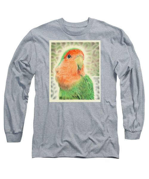 Lovebird Pilaf Long Sleeve T-Shirt by Remrov