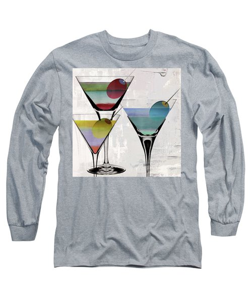 Martini Prism Long Sleeve T-Shirt by Mindy Sommers