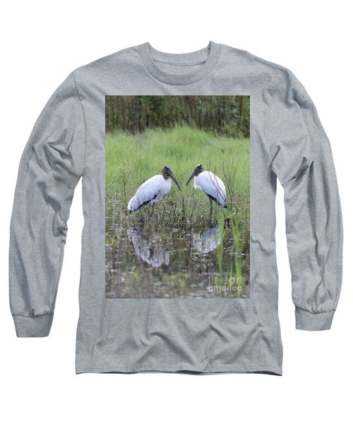 Meeting Of The Minds Long Sleeve T-Shirt by Carol Groenen